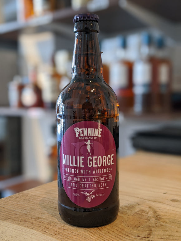 Pennine Brewing Millie George Blonde Ale