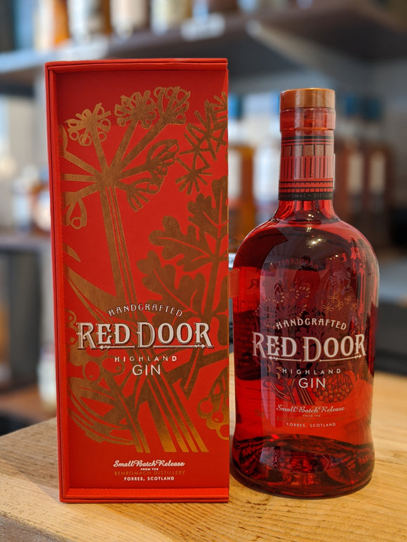 Red Door Gin With Gift Box