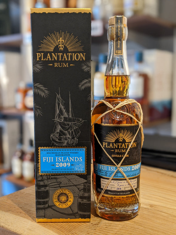 Plantation Single Cask Fiji 2009 Kilchoman Whisky Cask Rum