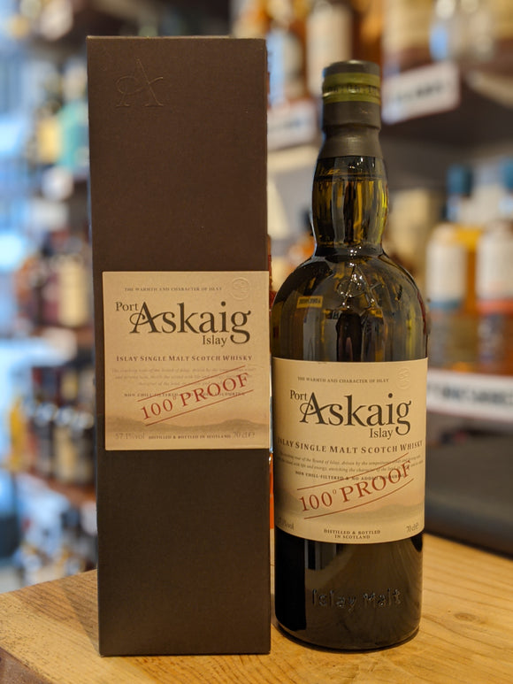 Port Askaig 100 Proof Islay Single Malt