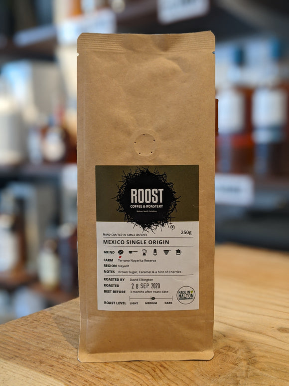Roost Mexico Single Origin Whole Coffee Beans