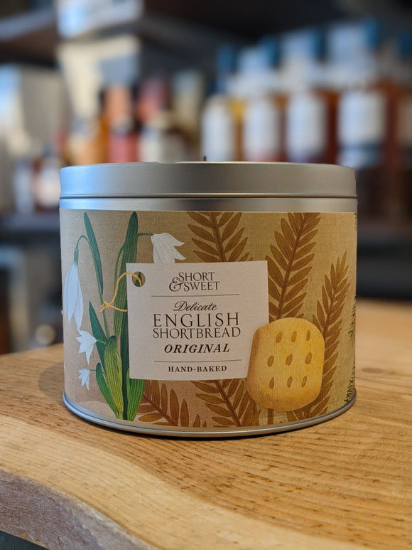 Artisan Biscuits Short & Sweet Originals Winter Gift Tin 190g