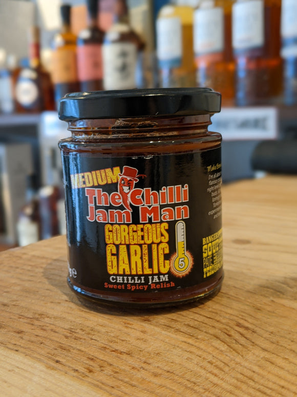 Gorgeous Garlic Chilli Jam 200g