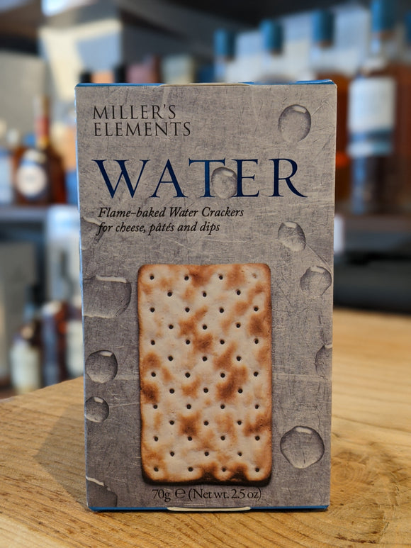 Miller's Elements Water Crackers 100g