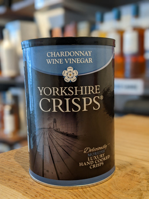 Yorkshire Crisps Chardonnay Wine Vinegar 100g