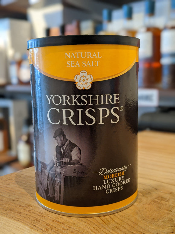 Yorkshire Crisps Natural Sea Salted 100g