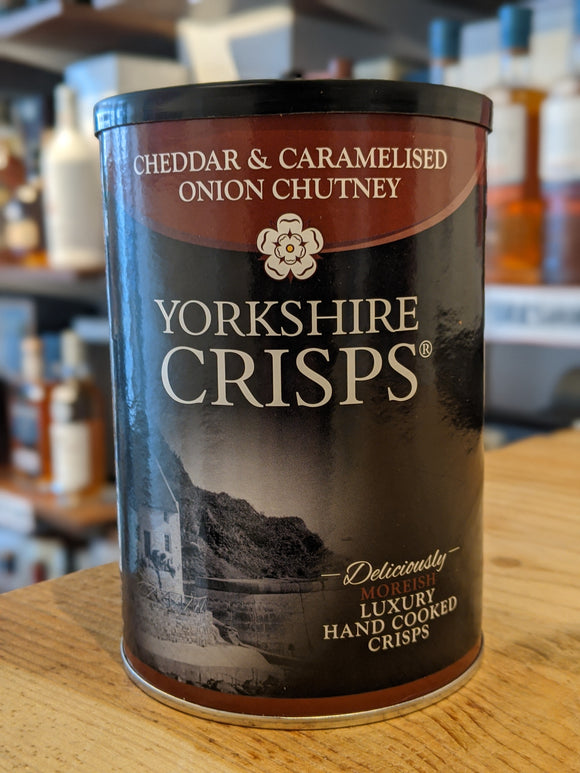 Yorkshire Crisps Cheddar & Caramelised Onion Chutney 100g