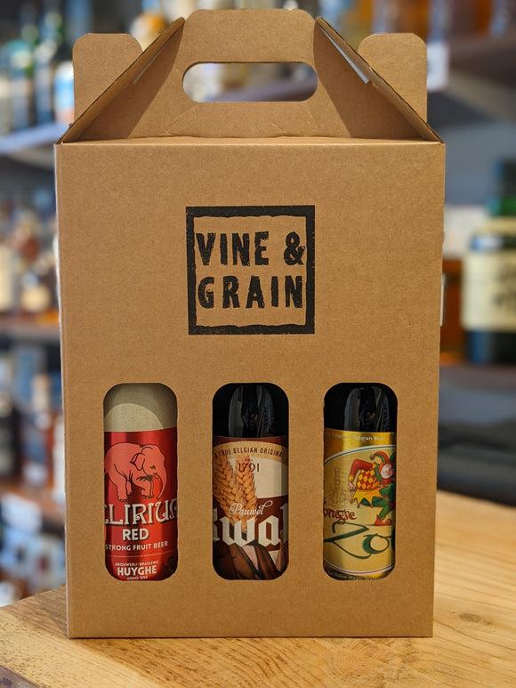 Vine & Grain Belgian Beer Gift Set