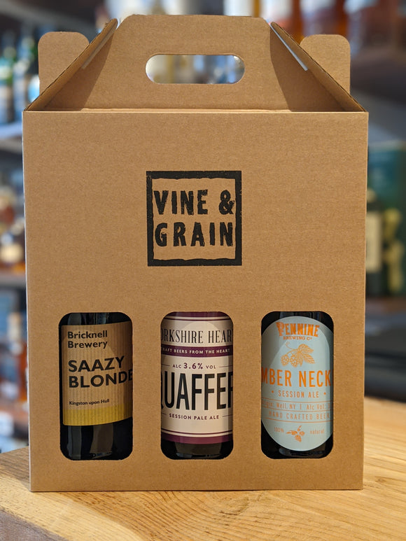 Vine & Grain Real Ale Selection