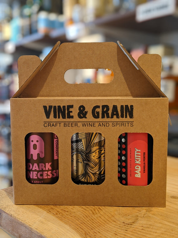 Vine & Grain 330ml Can Selection - Dark Beers