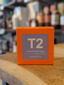 T2 French Earl Grey Loose Leaf Tea 100G Box