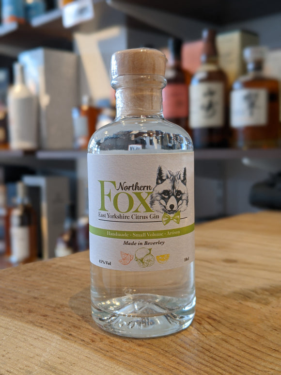 Northern Fox East Yorkshire Citrus Gin Miniature