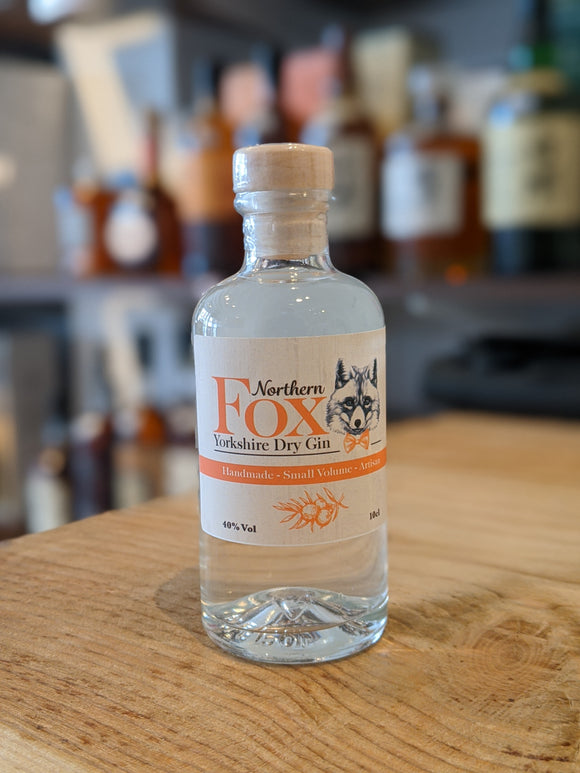 Northern Fox Yorkshire Dry Gin Miniature