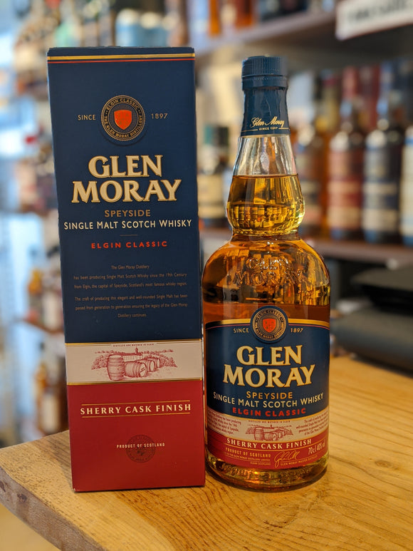 Glen Moray Sherry Cask Matured