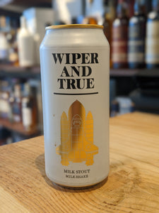 Wiper + True Milk Shake Stout