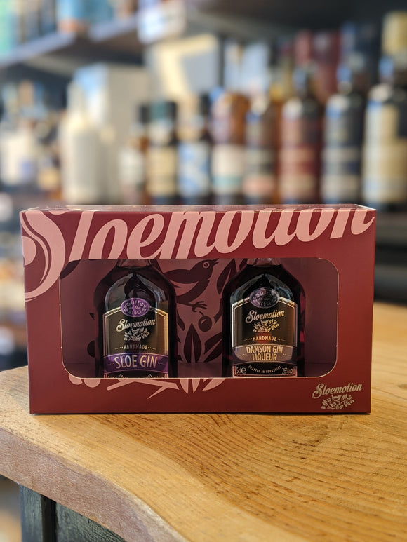 Sloemotion Gin Liqueur Twin pack