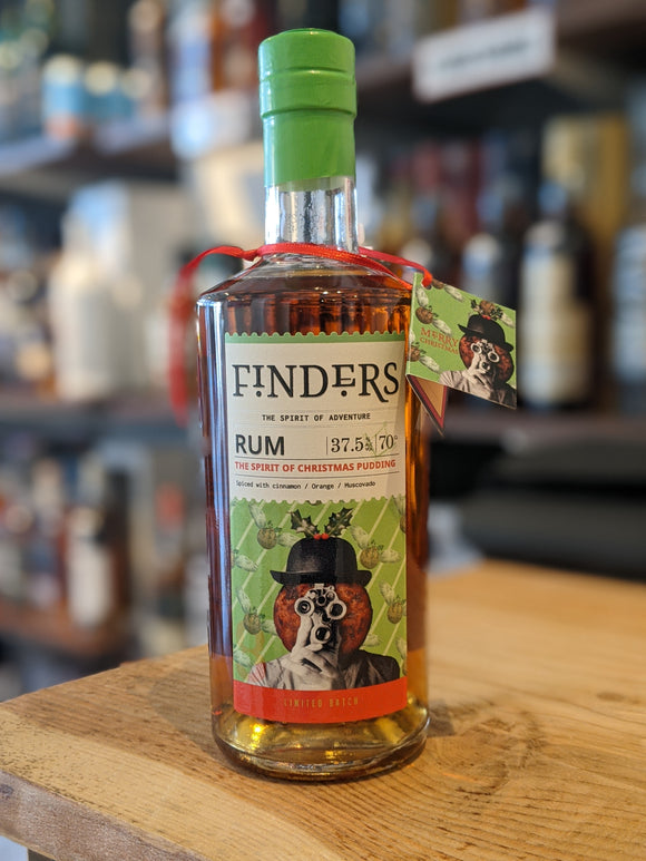 Finders The Spirit of Christmas Pudding Rum
