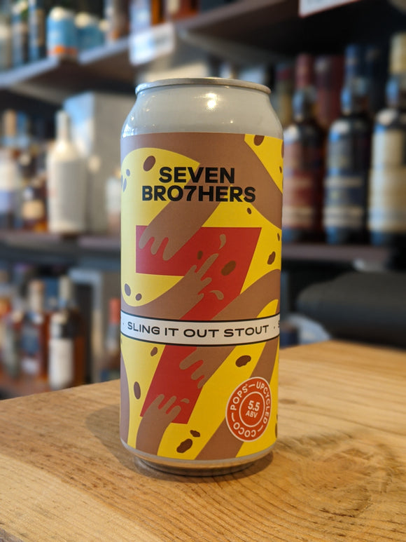 Seven Bro7hers Sling It Out Stout