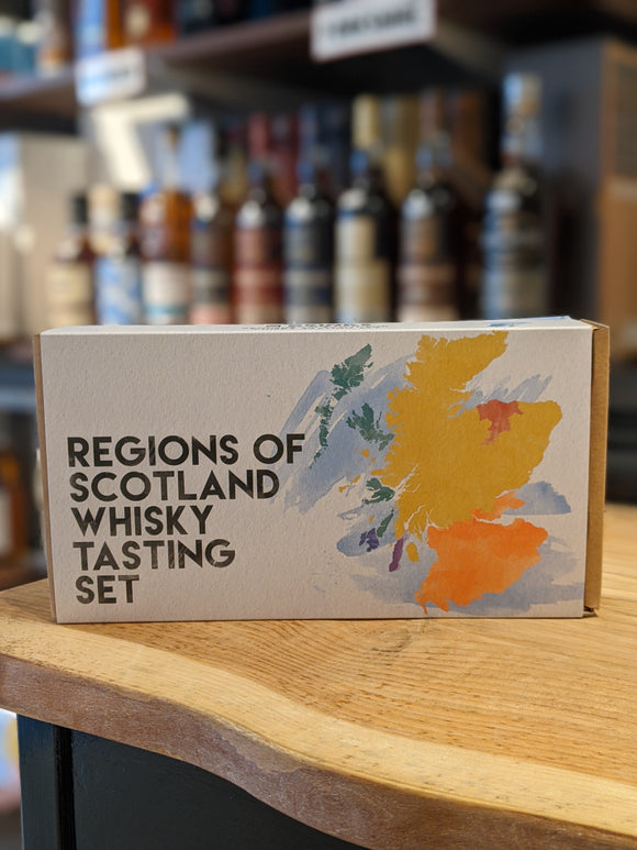 Drinks by the Dram Regions of Scotland Whisky Tasting Set