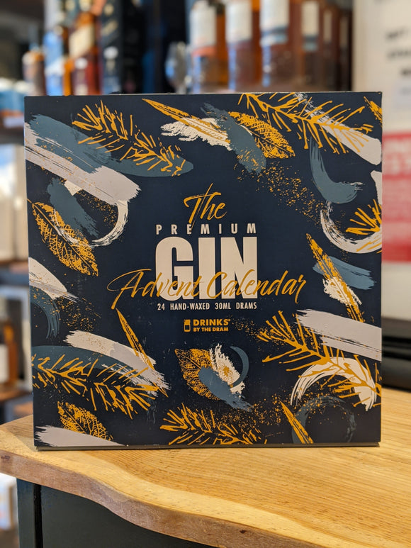 Drinks By The Dram The Premium Gin Advent Calendar