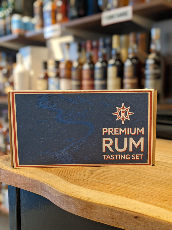 Drinks by the Dram Premium Rum Tasting Set