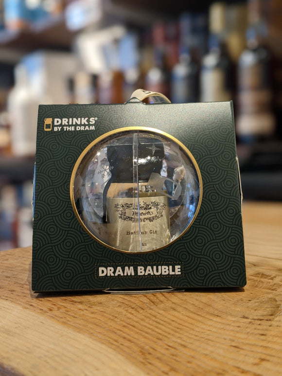 Drinks by the Dram Individual Baubles - Bathtub Gin