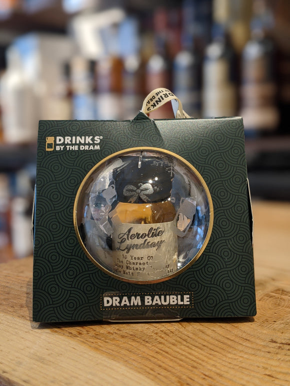 Drinks by the Dram Individual Baubles - Aerolite Lyndsay Whisky