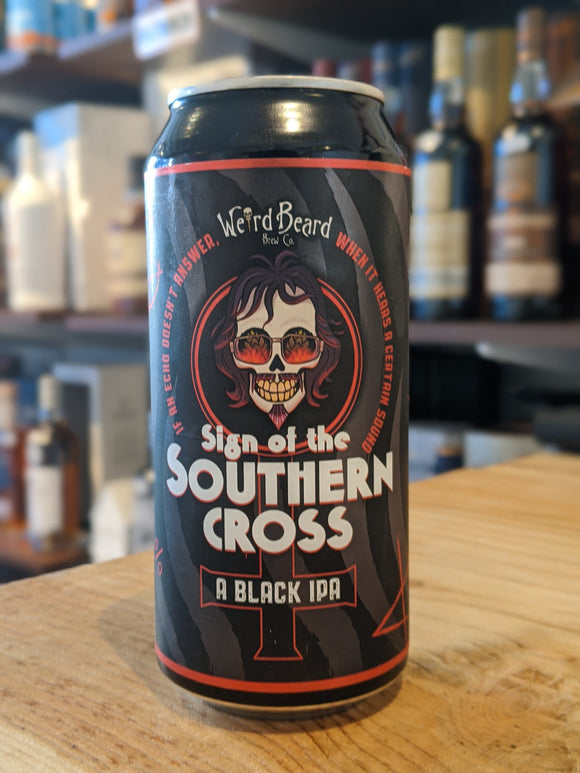 Weird Beard Sign of the Southern Cross Black IPA
