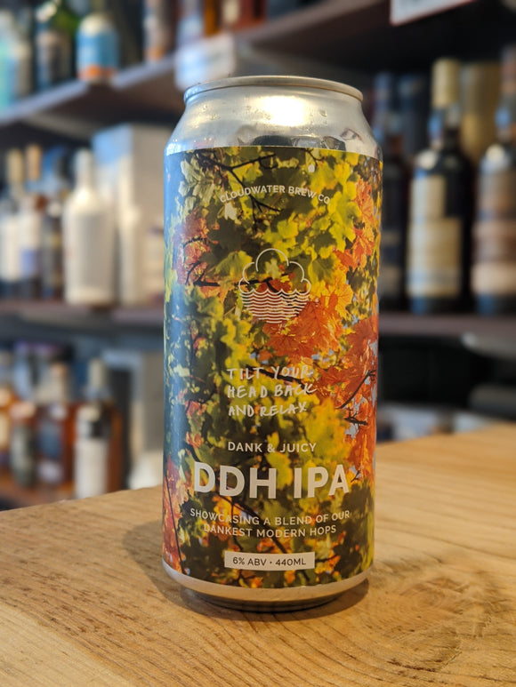 Cloudwater Tilt Your Head Back And Relax DDH IPA