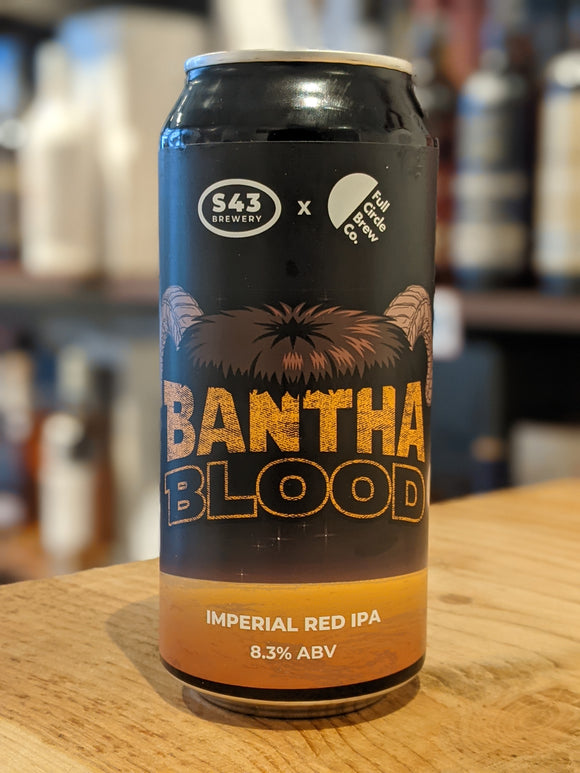 S43 x Full Circle Bantha Blood IIPA