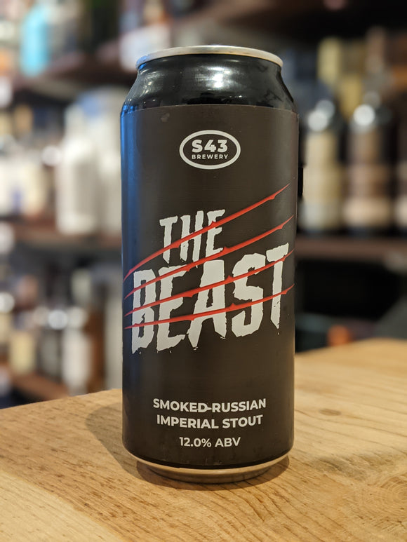 S43 The Beast Smoked Imperial Stout