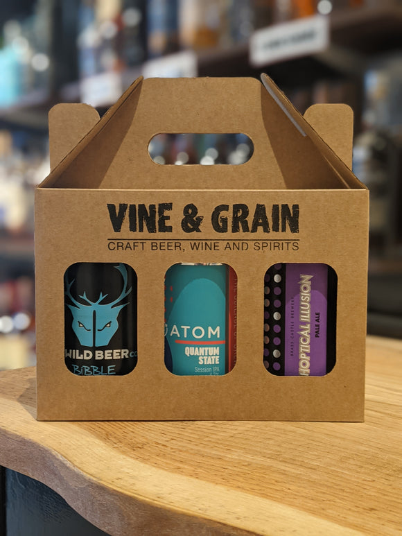 Vine & Grain 330ml Can Selection - Light Beers