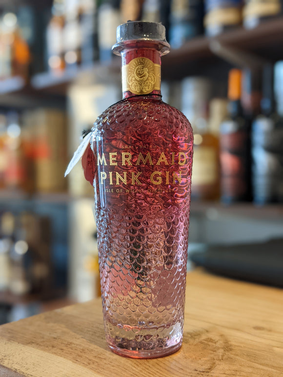 Isle of Wight Distillery Mermaid Pink Gin