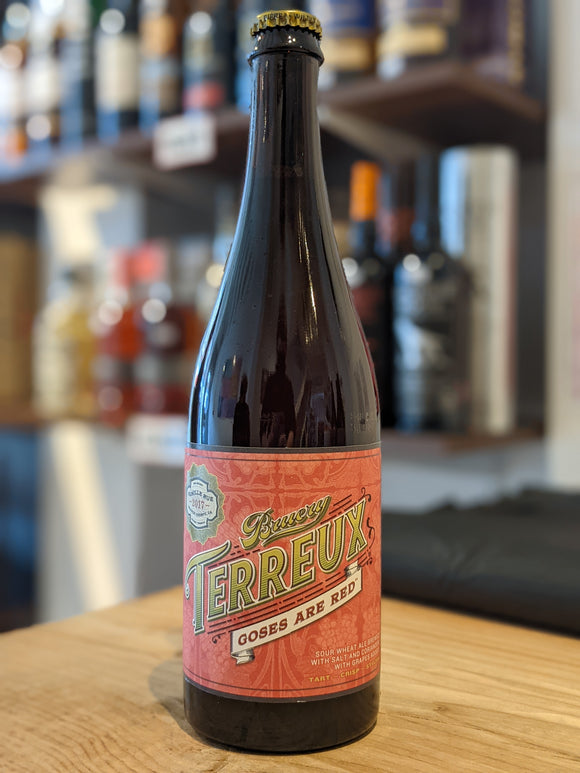 The Bruery Terreux Goses Are Red 750ml