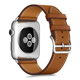 Apple Watch Series | Classic Genuine Leather Strap - GoStraps.com