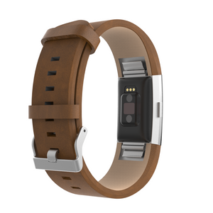 Fitbit Charge 2 | Classic Leather Watch Strap - GoStraps.com