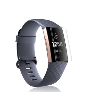 Fitbit Charge 3 | Anti-Scratch TPU Screen Protector - GoStraps.com