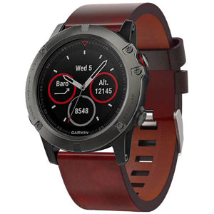 Garmin Fenix 3 | Leather Watch Strap - GoStraps.com