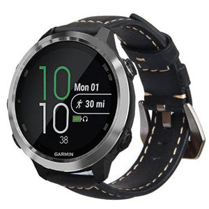 Garmin Forerunner 645 | Genuine Leather Watch Strap - GoStraps.com