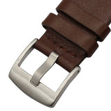 Garmin Vivomove HR | Italy Oil Genuine Leather Watch Strap - GoStraps.com