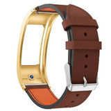 Garmin Vivofit 2 | Classic Leather Watch Strap - GoStraps.com