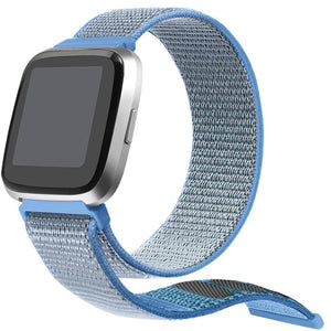 Fitbit Versa 2  | Nylon Loop Sports Band - GoStraps.com