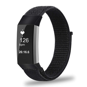 Fitbit Charge 3 | Sports Nylon Loop Strap - GoStraps.com