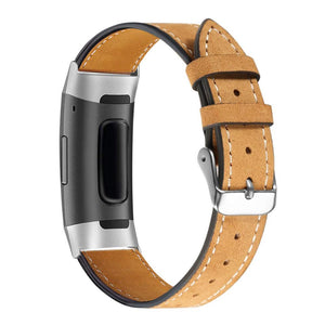 Fitbit Charge 4 | Classic Leather Strap - GoStraps.com