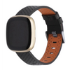Fitbit Versa 3 | Breathable Leather Strap - GoStraps.com