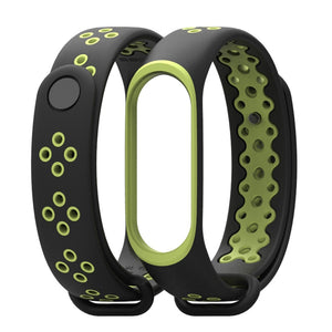 Xiaomi Mi Band 4 | Dual Color Sports Silicone Strap - GoStraps.com