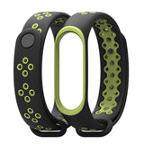 Xiaomi Mi Band 3 | Dual Color Sports Silicone Strap - GoStraps.com