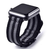 Apple Watch Series | Woven Nylon Strap NATO Style Watch Strap - GoStraps.com