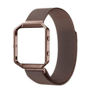 Fitbit Blaze | Milanese Mesh Loop Strap w/ Frame - GoStraps.com