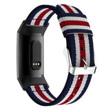 Fitbit Charge 3 | Nylon Stripe Element Strap - GoStraps.com